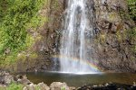 44_Rainbow_in_waterfall_at_Le_Grand_Etang