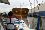 38_Our_boat_friend_for_the_Pedro_Miguel_and_Miraflores_locks