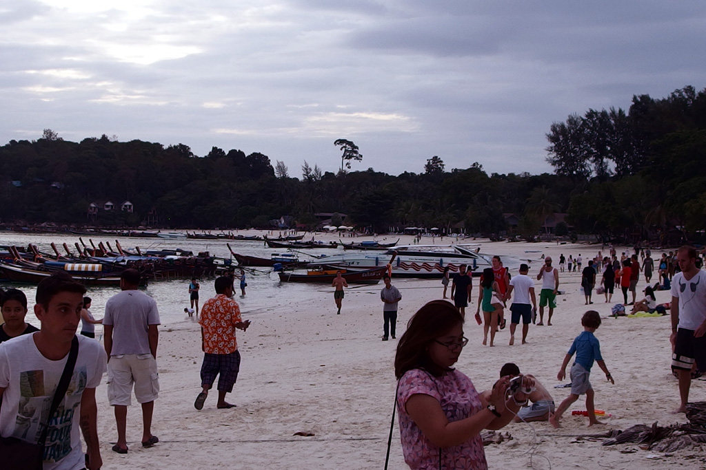 the south beach of Koh Lipe